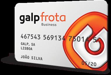 Novo cartão Galp Frota Business